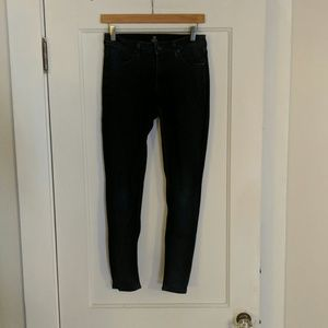 Just Black Skinny Jeans, size 28